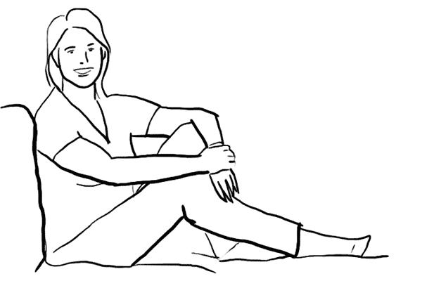 Основные позы для женской фотосессии, часть 2. - №6
