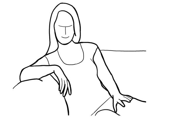 Основные позы для женской фотосессии, часть 2. - №7