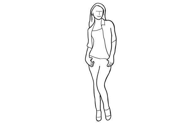 Основные позы для женской фотосессии, часть 2. - №12