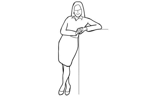 Основные позы для женской фотосессии, часть 2. - №17