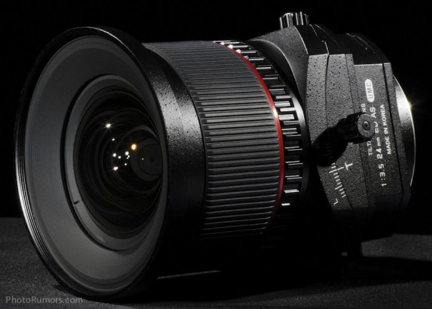 Объектив с коррекцией перспективы Samyang T-S 24mm 1:3.5 ED AS UMC - №1