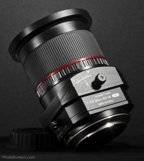 Объектив с коррекцией перспективы Samyang T-S 24mm 1:3.5 ED AS UMC - №2