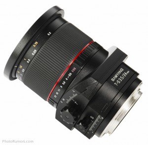 Объектив с коррекцией перспективы Samyang T-S 24mm 1:3.5 ED AS UMC - №5