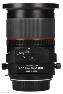 Объектив с коррекцией перспективы Samyang T-S 24mm 1:3.5 ED AS UMC - №7