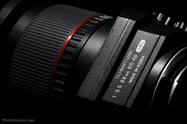 Объектив с коррекцией перспективы Samyang T-S 24mm 1:3.5 ED AS UMC - №8