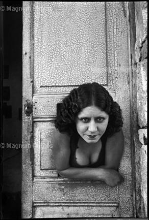 Мексика. Calle Cuauhtemoctzin. 1934. Henri Cartier-Bresson