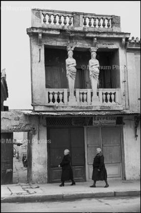 Греция. Афины. 1953. © Henri Cartier-Bresson