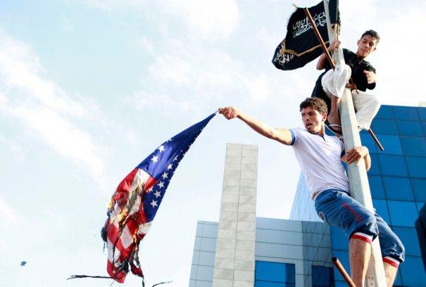 Протесты мусульман по всему миру - №4