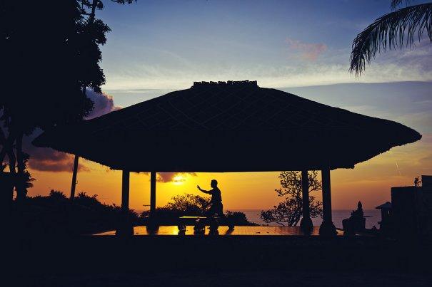Закаты острова Бали