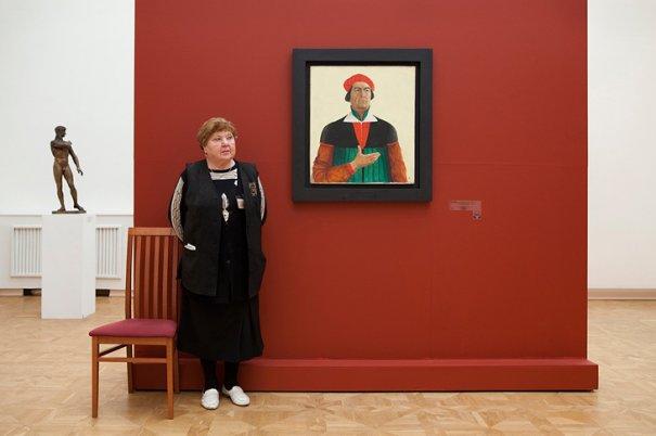 Государственный Русский Музей. Автопортрет Малевича
