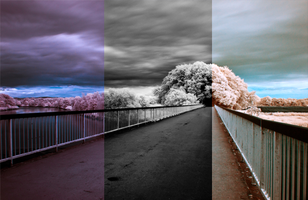 Как сделать инфракрасное фото - №1