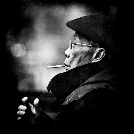 Уличные портреты Джонатана Россера - №10