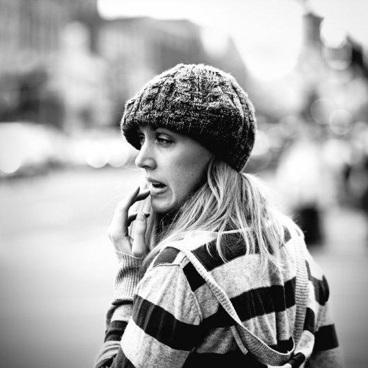 Уличные портреты Джонатана Россера - №11