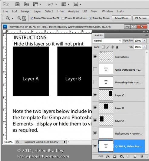 Как сделать фотоколлаж из нескольких фотографий в Photoshop - №3