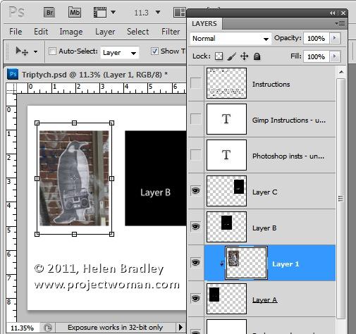 Как сделать фотоколлаж из нескольких фотографий в Photoshop - №5
