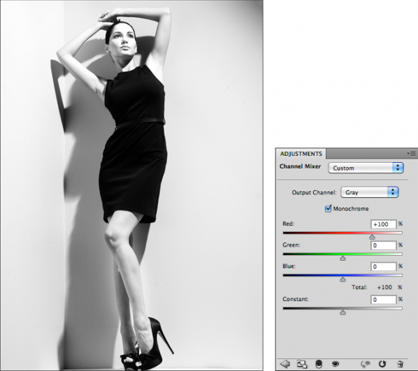 Мастерская фотографа, часть 2 - важный инструмент Фотошопа Channel Mixer - №3