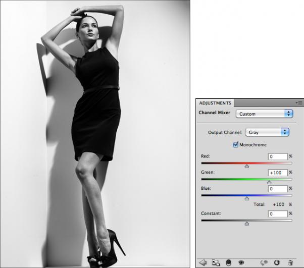 Мастерская фотографа, часть 2 - важный инструмент Фотошопа Channel Mixer - №4