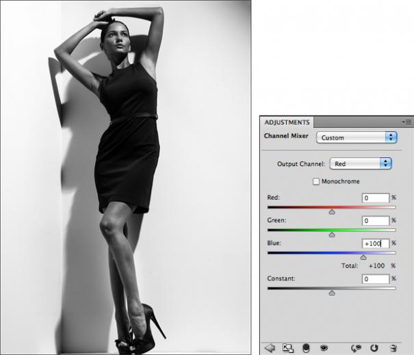 Мастерская фотографа, часть 2 - важный инструмент Фотошопа Channel Mixer - №5