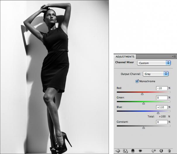 Мастерская фотографа, часть 2 - важный инструмент Фотошопа Channel Mixer - №6