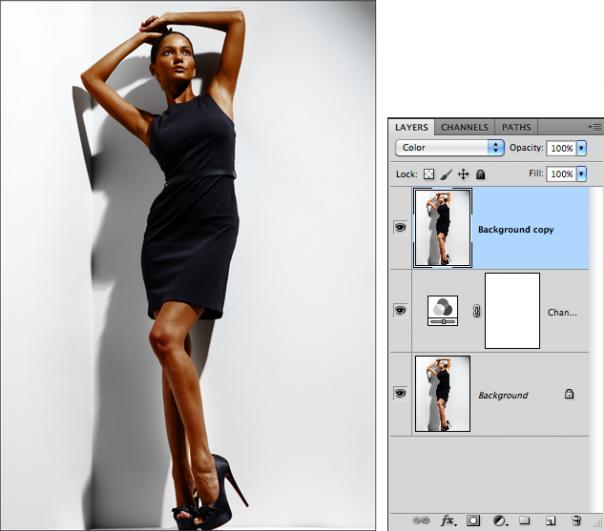 Мастерская фотографа, часть 2 - важный инструмент Фотошопа Channel Mixer - №7