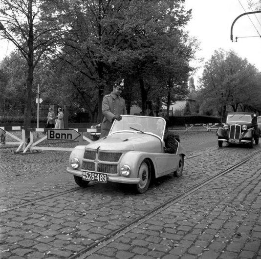 Эрих Лессинг. Западная Германия