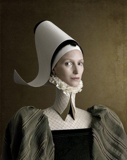 """""""1503"""" Портрет дамы в зеленом"""