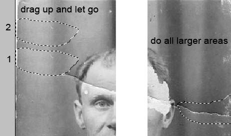 Реставрация старой фотографии в Photoshop - №4