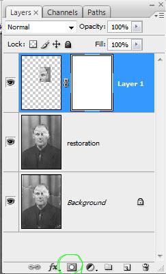 Реставрация старой фотографии в Photoshop - №10