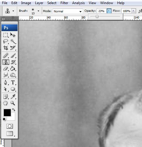 Реставрация старой фотографии в Photoshop - №16