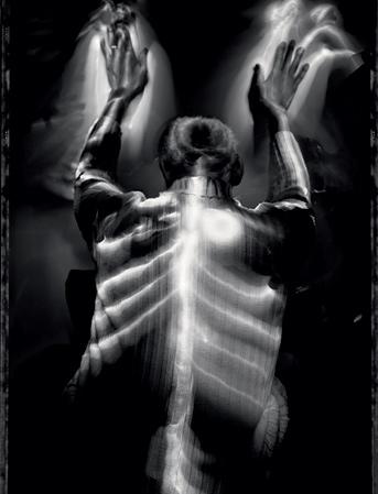 До того как ослепнуть, Бенджамин Пейдж всю жизнь проработал рентгенологом в ветеринарной лечебнице.