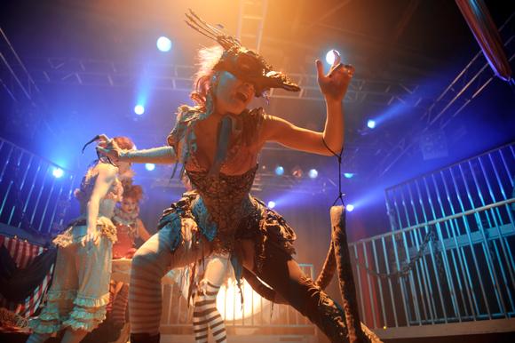 """""""фото с концертов"""" - Emilie Autumn, 2012, Nosturi, Helsinki, Finland"""