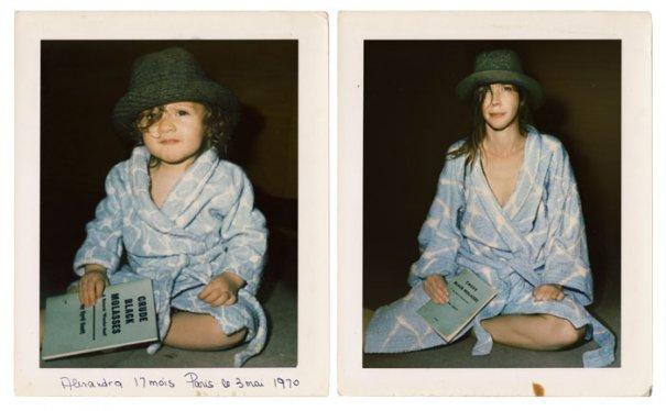 Алехандра 1970 и 2011 Париж