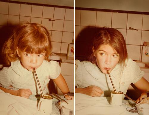 Виолета 1981 и 2011 Буэнос-Айрес