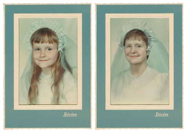 Кэрол 1960 и 2011 Нью-Йорк