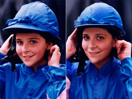 Лея 1995 и 2011 Париж