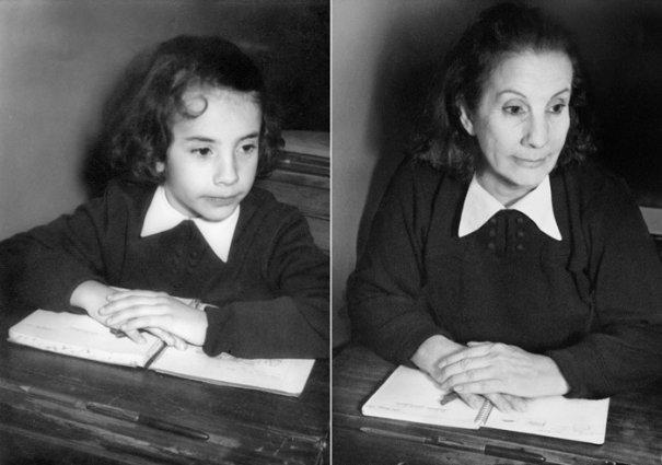 Люсия 1956 и 2010 Буэнос Айрес