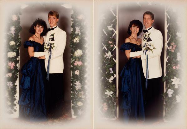 Сара и Джим 1988 и 2011 Бостон