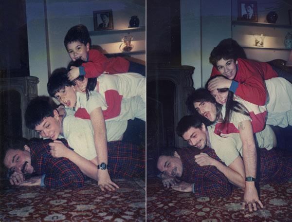 Семья 1999 и 2011 Буэнос-Айрес
