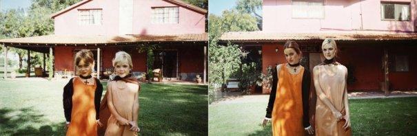 Соня и Лаура 1988 и 2011 Буэнос-Айрес