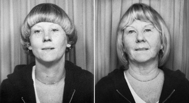 Сью 1977 и 2010 Лондон