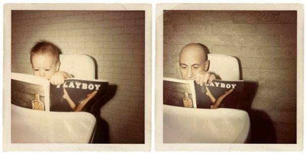 Энди 1967 и 2011 Лос-Анджелес
