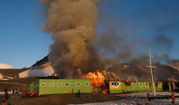 AP Photo/Armada de Chile