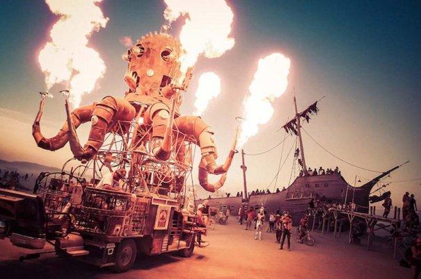 """Открытый фестиваль """"Burning Man"""""""