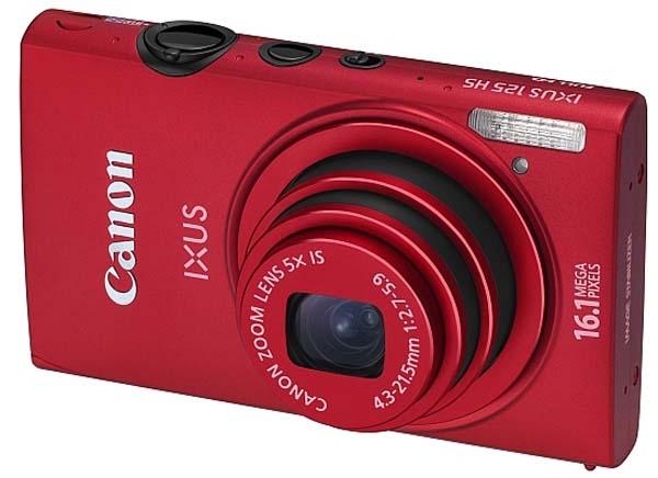Camera Canon Red Ixus 125 HS