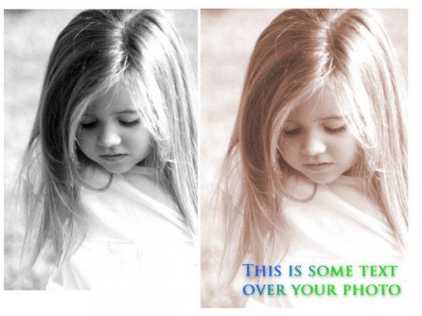 Как добавить текст на фотографии - №1