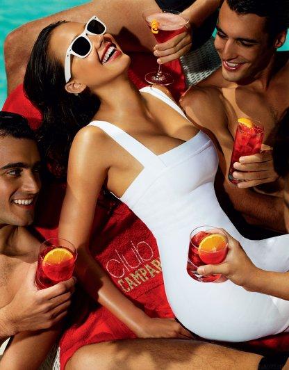 Jessica Alba - Mario Testino, Campari Calendar 08