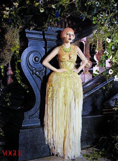 Lady Gaga - Vogue US March 2011 02