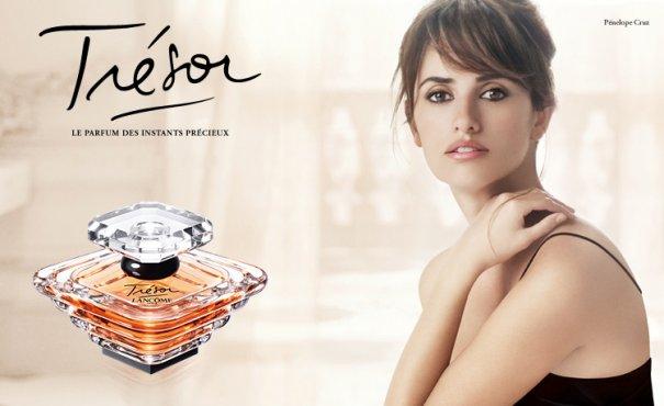 Lancome Tresor Parfum - Penelope Cruz 01