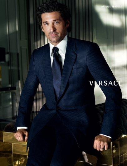 Versace FW 08 19 - Patrick Dempsey