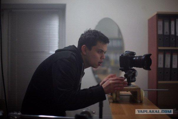 Парень снял фильм на Canon 7D